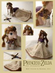 Princess Zelda by Haawan