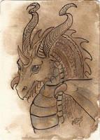 ATC Ink Dragon by Haawan