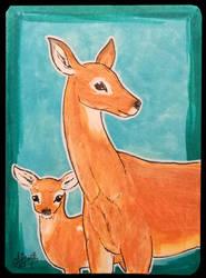 ATC Pampas deer by Haawan