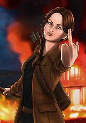 Katniss Everdeen by Nekromantics