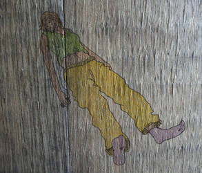 wood drawing by guidedbygreed