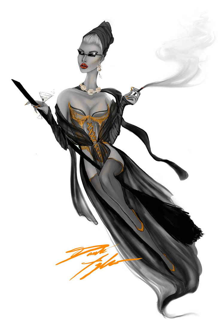 Chic Witch by dantetyler