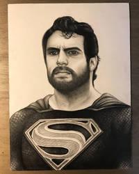 Black Suit Superman  by Robert628