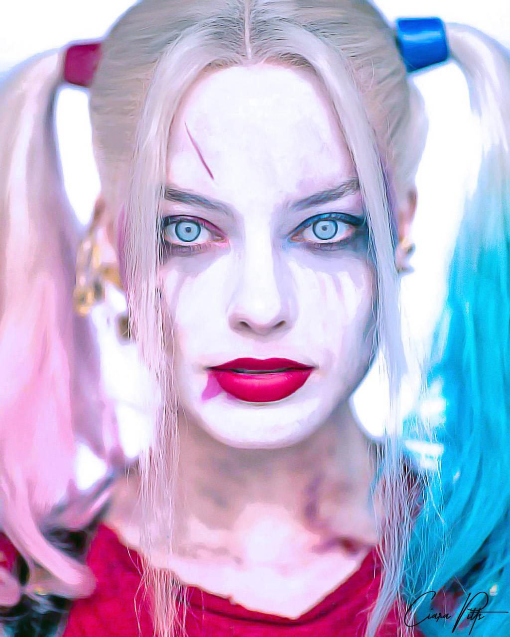Harley Quinn Digital Painting By Designbyciara On Deviantart