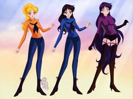 Female Assassins 3-pack by phantomofmike