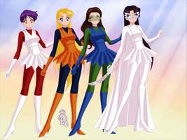 Planetary Daughters 4-pack by phantomofmike