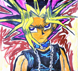 Yami Yugi - The Duel King by NightmareAngel007