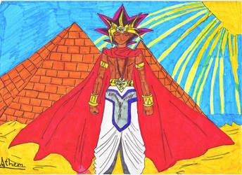 Yami - The Pharao by NightmareAngel007