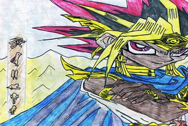 Atemu - The King of Egypt by NightmareAngel007