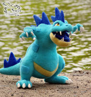 Needle Felted Pokemon Shiny Feraligatr by YuliaLeonovich