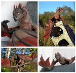 Dragon Smaug by YuliaLeonovich