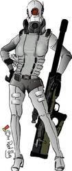 Combine Sniper Assassin by redslug