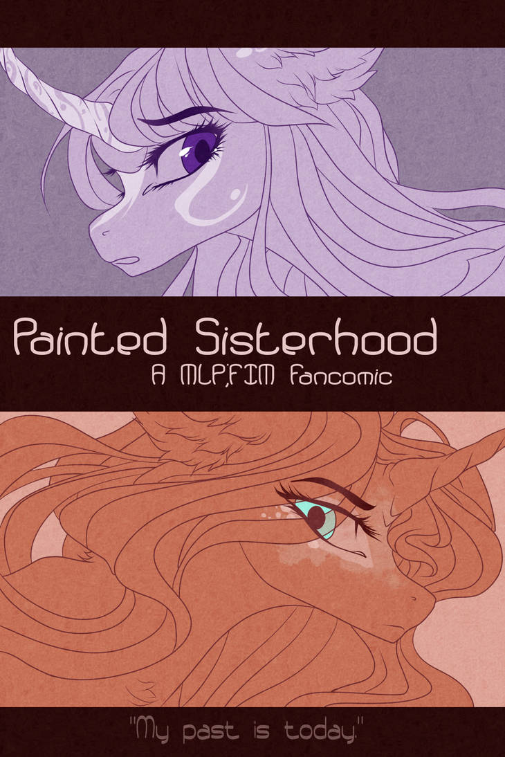 FIM | Painted Sisterhood | Cover by CastASpellLiana