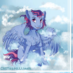 [Comm] Fluff and Clouds by CastASpellLiana