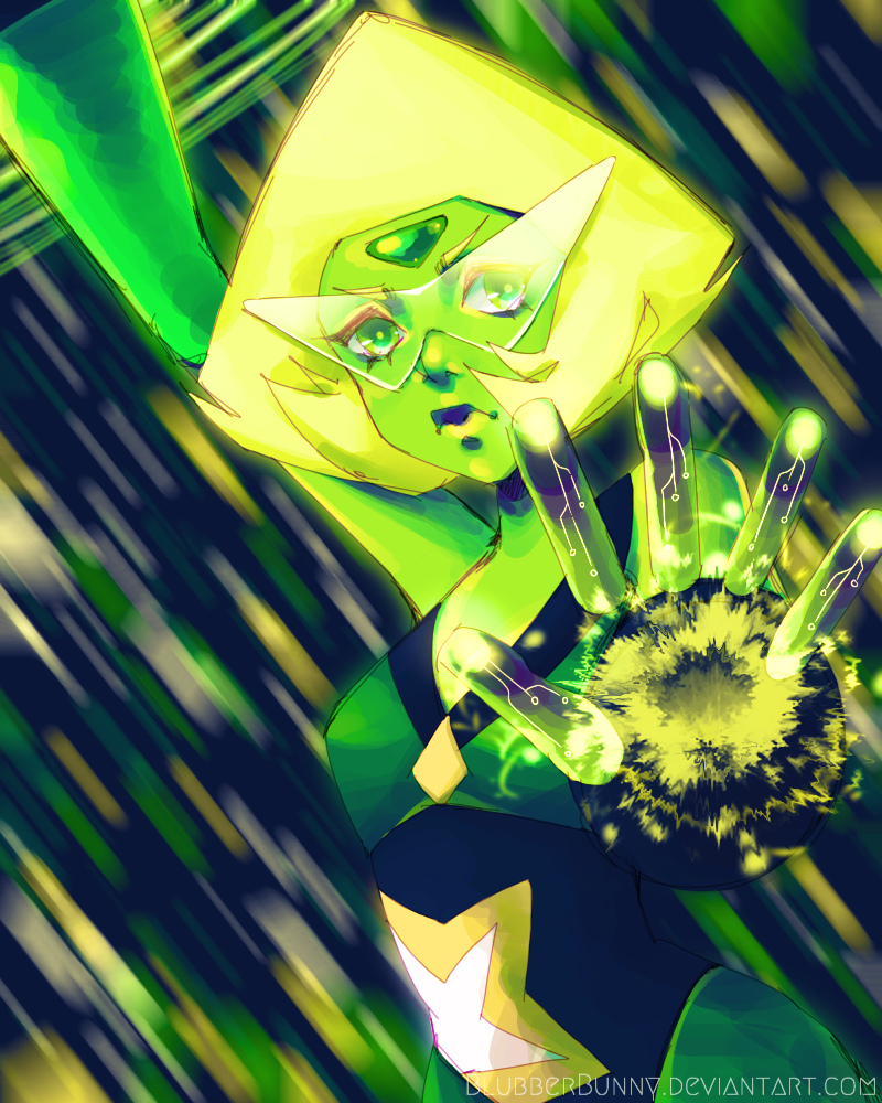 I love Peridot and her limb enhancers . . . Probably because I'm 4'11 and wish to be a bit taller LOLS Instagram