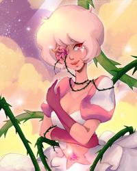 Love Yourself - Pink Diamond by BlubberBunny