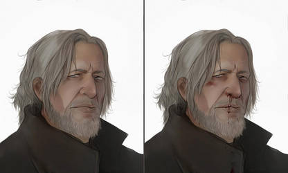 Hank fast painted bust by Everybery