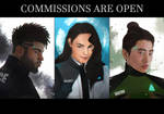 DBH commission ads by Everybery