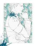 Connor sketch postcard by Everybery