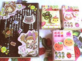 kawaii matchboxes by VioletLunchell
