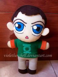 TBBT Sheldon plushie by VioletLunchell