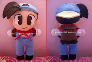 Harvest Moon Pete Plushie by VioletLunchell