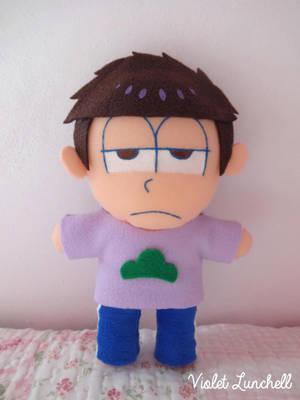 Osomatsu San: Ichimatsu Matsuno plushie by VioletLunchell