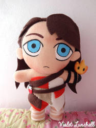 Rekindle Mika plushie by VioletLunchell