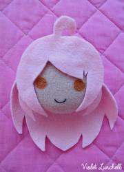 Minnoka (OC) plushie charm by VioletLunchell