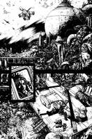 Wild BlueYonder Issue 2 Page 6 inks by Spacefriend-KRUNK