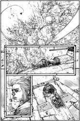 Wild Blue Yonder Issue 6 Page 11 Pencil by Spacefriend-KRUNK