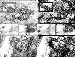 Wild Blue Yonder Issue 6 Page 15 Pencils and Inks by Spacefriend-KRUNK