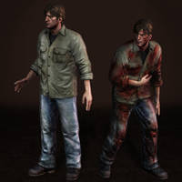 Silent Hill Downpour Murphy Shirt by ArmachamCorp
