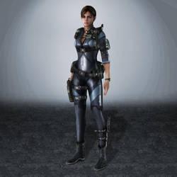 Resident Evil Revelations Jill Valentine by ArmachamCorp