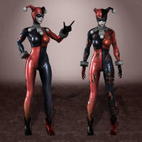 Injustice Harley Quinn Classic by ArmachamCorp