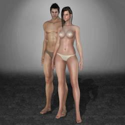 Black Desert Online Human Base by ArmachamCorp