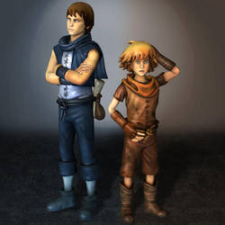 Brothers A Tale Of Two Sons Brothers by ArmachamCorp