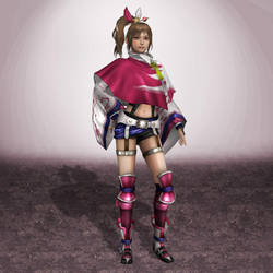 Samurai Warriors 4 Kunoichi by ArmachamCorp
