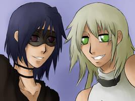 Mu-Young and Ignatio by Animefanka