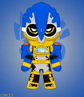 Chibi Kamen Rider Para-Dx by Zeronatt1233