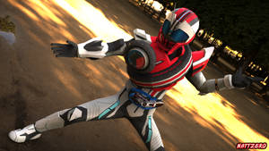 Kamen Rider Dead Heat Mach by Zeronatt1233