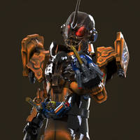 Robot in Grease!!! Buraaaa!! by Zeronatt1233