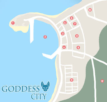 Goddess City map by JustMort