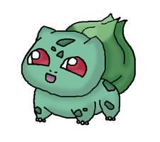 .:Cute Bulbasaur:. by drifblim