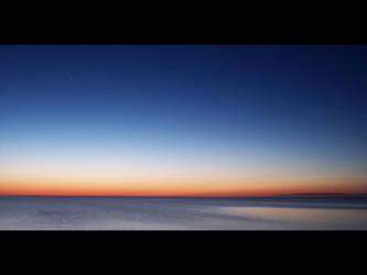 Skyline after sunset by jack-skellington26