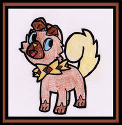 Rockruff! by WalkerP