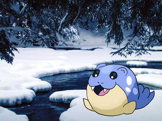 #363 Spheal by WalkerP