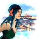 Karou by ar1anna