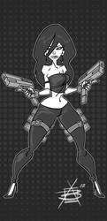 Double Pistol by CaptainLuckypants