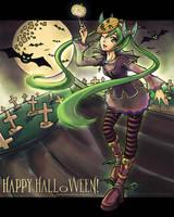 Halloween Miku by Jatearica